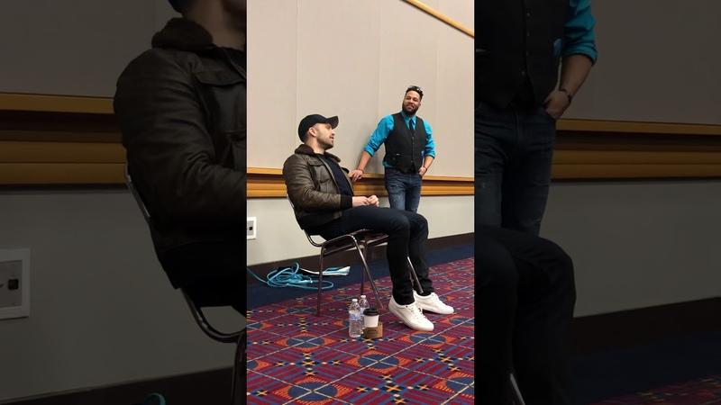 Wizard World Portland 2018 Sebastian Stan meet greet