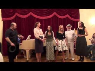 Хорошее настроение. Поёт Марина Назарова.Концертмейстер Александра Докучаева.