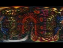 360 VR Deep Dream Tunnel Trip - Psychedelic Fractal Ayahuasca DMT Experience 4K