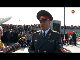 Курсанты Академии МВД приняли Присягу.mp4
