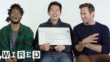 Steven Yeun, Armie Hammer &amp Jermaine Fowler Answer the Web's Most Searched Questions WIRED
