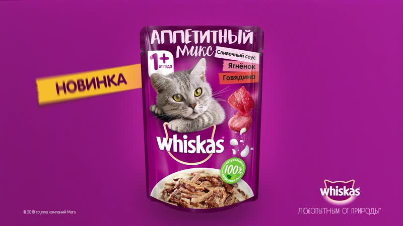 RUSSIA WHISKAS SocialContent VideoPosts 6sec 2018 138