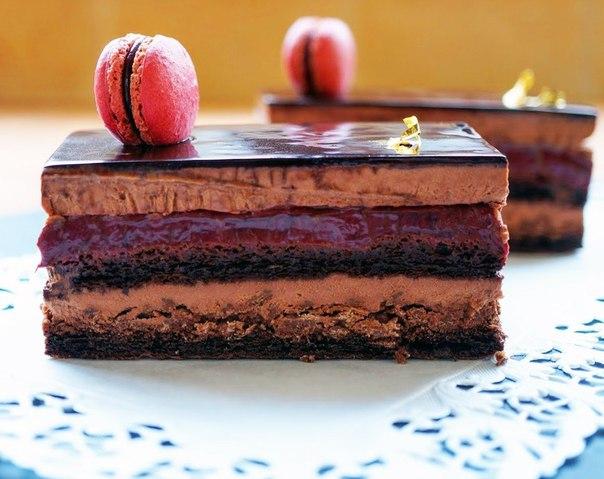 """Пирожное """"Шоколадная смородина"""""""