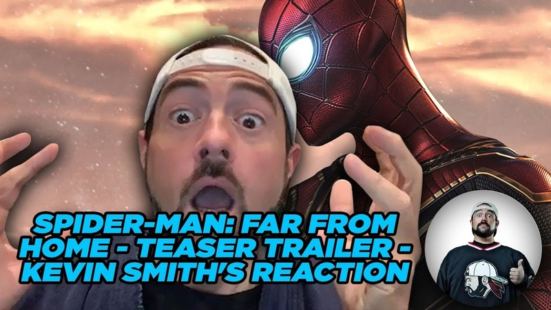 SPIDER-MAN FAR FROM HOME - Teaser Trailer - Kevin Smiths Reaction