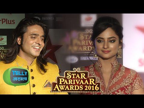 Ram Sita Look Stunning At The Star Parivaar Awards Red Carpet | Siya Ke Ram