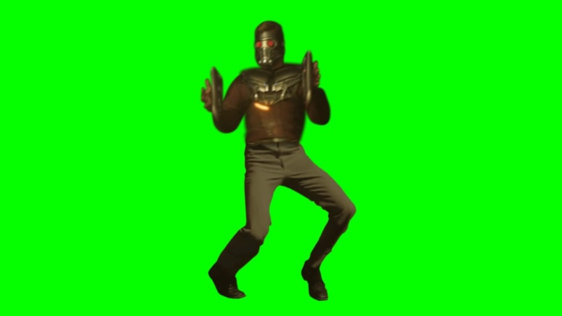 STARLORD STARDANCE GREEN SCREEN by Aldo Jones - USE IT FOR YOUR PROJECTS