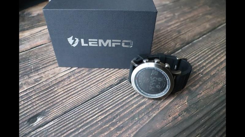 Смарт Часы Lemfo LF23 Распаковка