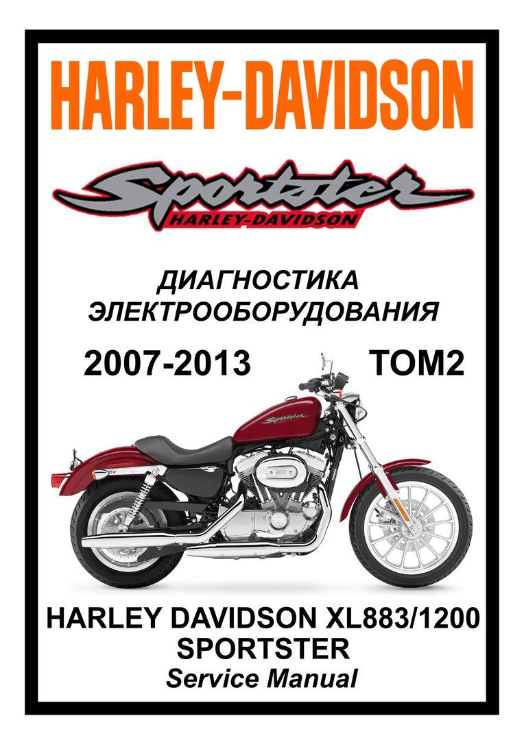 Harley Davidson XL883/1200 Sportster (2007 - 2017)