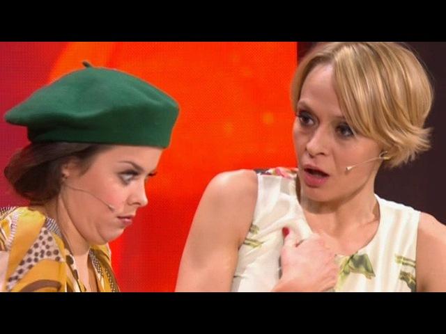 Камеди Вумен Comedy Woman Наталия Медведева Полина Сибагатуллина Сплетница по вызову