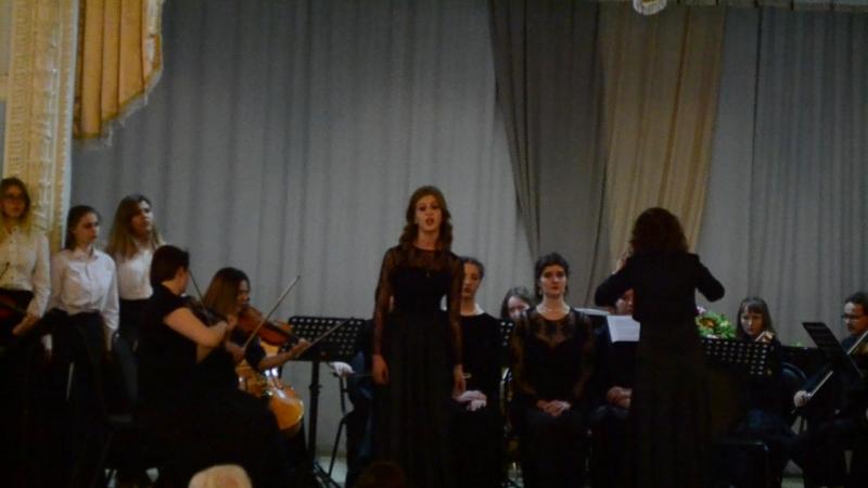 отчетный концерт :Вокального отделения stabat mater (1)