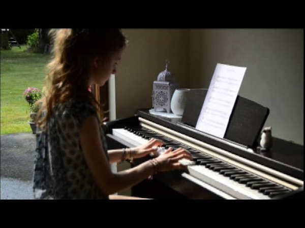 Piano Ophélie - YANN TIERSEN - la valse d'Amélie