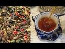 Сердечный 💖 чай из ферментированных листьев клубники 🍓 или земляники. Russian tea.