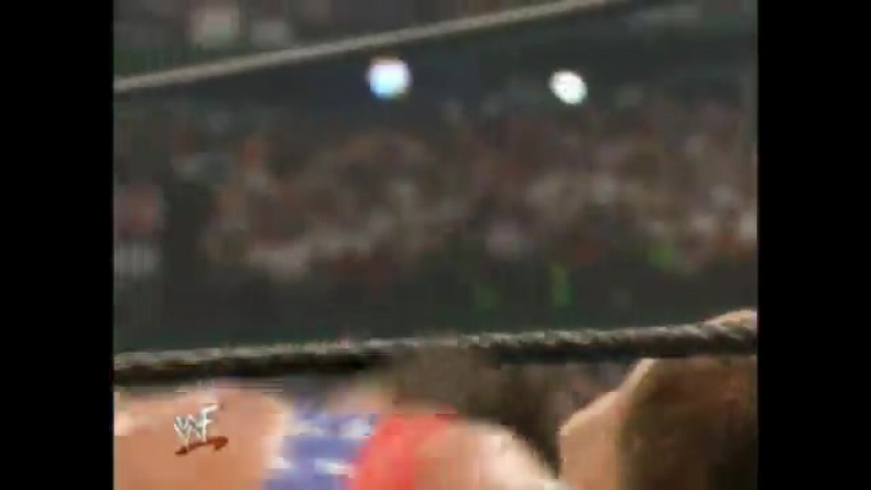 WWF WrestleMania X-Seven - Kurt Angle vs Chris Benoit
