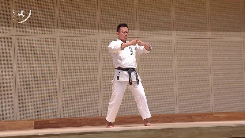 Seisan (Matsumura) kata (Shorin ryu) Higa Kōyū sensei セーサン 「松村」型 (小林流) 比嘉康雄 先生