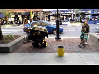 Настоящий трансформер на улицах города - Human Transformer - NOLATron
