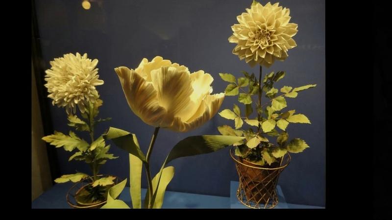 Копия видео Выставка фарфоровых цветов Владимира Каневского в Эрмитаже