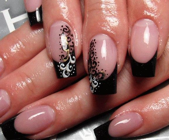Ногти маникюр наращивание ногтей vk
