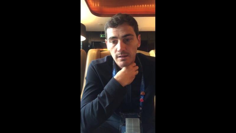 Iker Casillas DesdeRusiaConCasillas episodio 8 facebook 23 06 2018