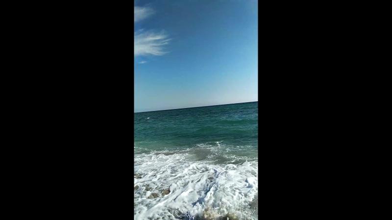 Черноморский район. Пляж Беляус.