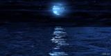 Moonlight reflection