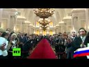 Сравнение инаугураций президентов США 2009 и РФ 2012