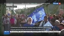 Новости на Россия 24 Митинги в Венгрии на улицы вышли защитники иностранного влияния на образование