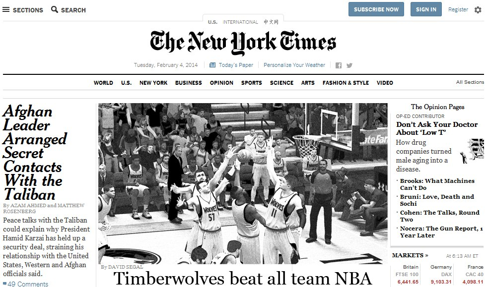 Timberwolves beat all team NBA