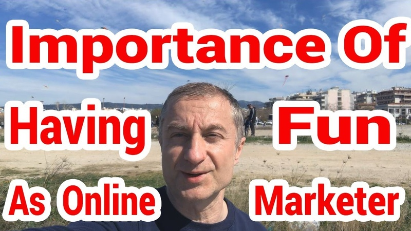 The Importance Of Having Fun As An Online Marketer