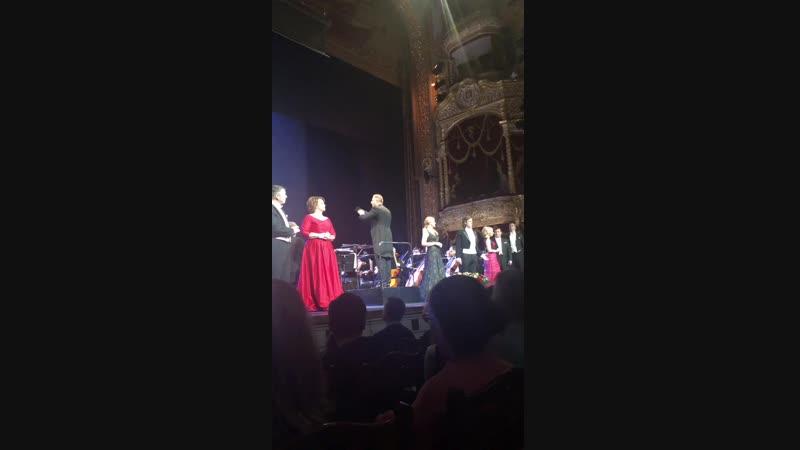 Гала-концерт артистов Большого театра и национальной оперы ,,Эстония,, 12.01.19г.