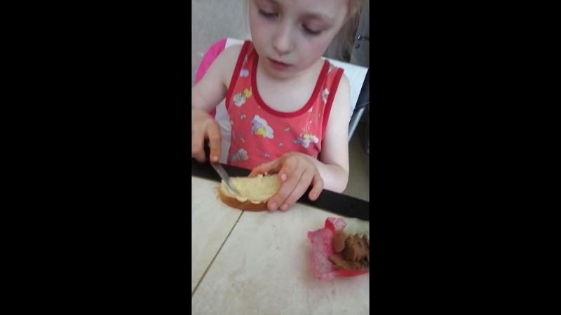 Рецепт повенецкого бутерброда от дедушки Вовы