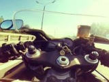 Honda CBR 929 RR (acceleration, top speed, Moscow traffic jam)