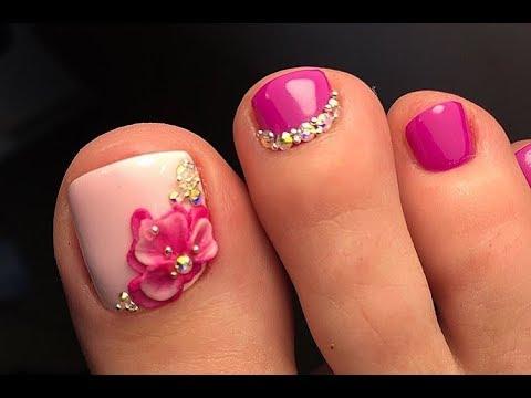 New Pedicure Nails Tutorial✔The Best Nail Art Designs (BeautyIdeas Nail Art)