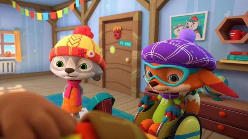 Знайчишка и его друзья - На кого я похож - Зимняя серия Подпишитесь на нас -vk.com/teremok_tv