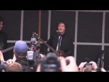 Paul Mccartney surprise concert in Times Square in New York  11102013 FULL ! ! !