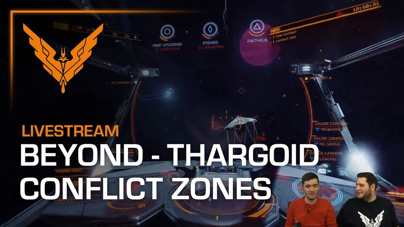Beyond - Chapter Four - Thargoid Conflict Zones