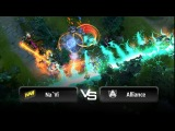 Insane fight by Na`Vi vs Alliance - Game 5 @ StarLadder LAN-Finals - VII