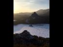Бөлектау тауына шығып қарағандағы көрініс