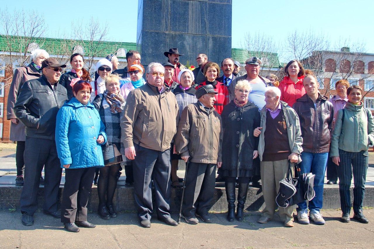 Биробиджанцы отметили 148-ю годовщину со дня рождения В.И. Ленина