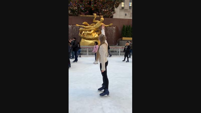 Mom! Love You! New York, Rockefeller Center