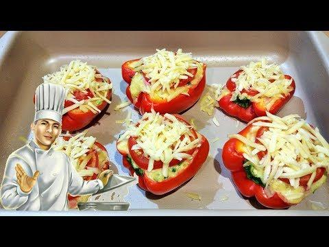 Фаршированный перец в духовке(РУСТАМ ИСМАИЛОВ)