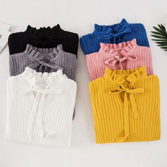 Тонкий свитер -