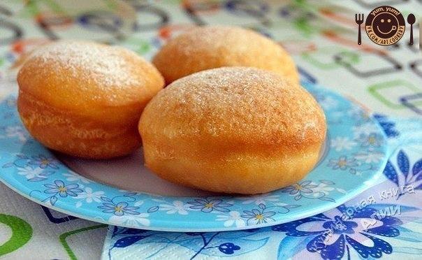 Рецепт теста на пончики дрожжевые с фото
