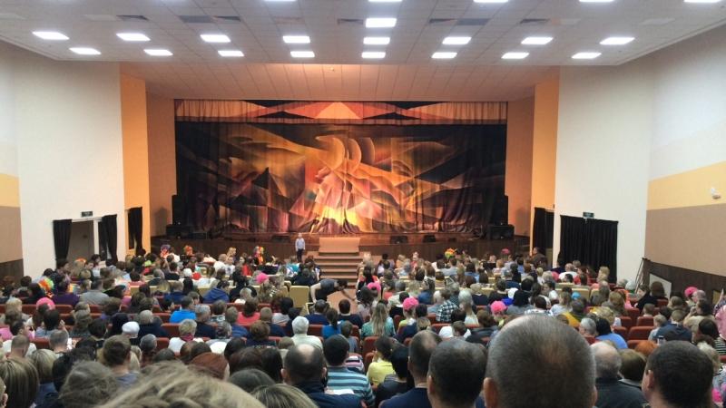 Отчетный концерт ОХК Сороконожка. Будни звуковика Глеба БЗГ