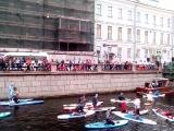 карнавал на воде в Питере плыть