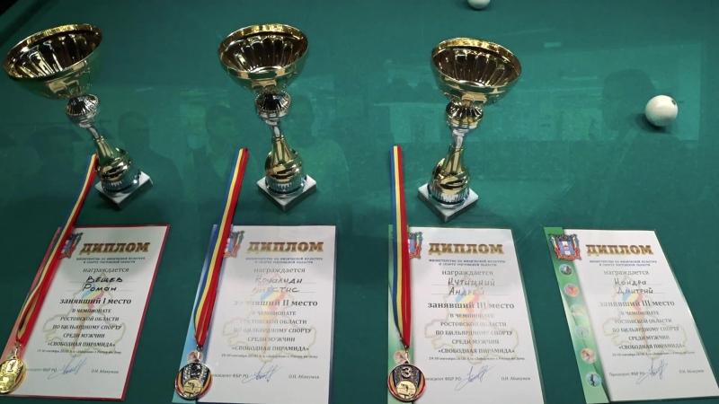 Чемпионат Ростовской области по бильярдному спорту среди мужчин и женщин.