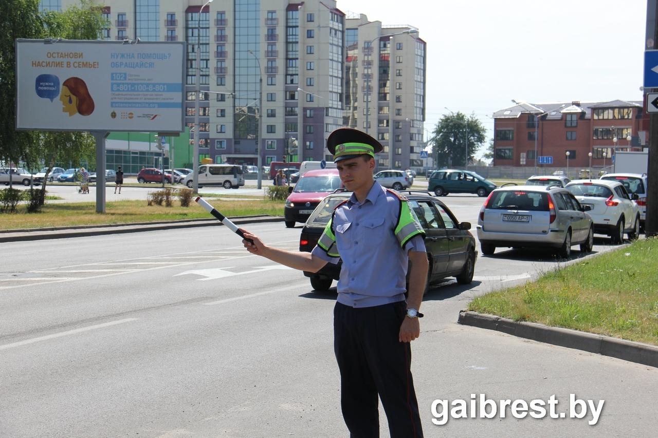 ГАИ проверила, пропускают ли брестские водители пешеходов...и как пешеходы ведут себя на дороге