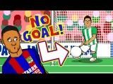 NO GOAL! Real Betis vs Barcelona - did the ball cross the line LA LIGA CONSPIRACY!