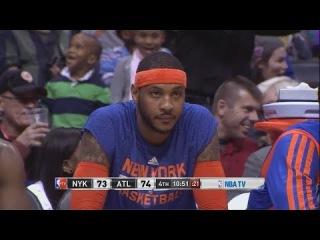 New York Knicks vs Atlanta Hawks   February 22, 2014   Full Game Highlights   NBA 2013-2014 Season