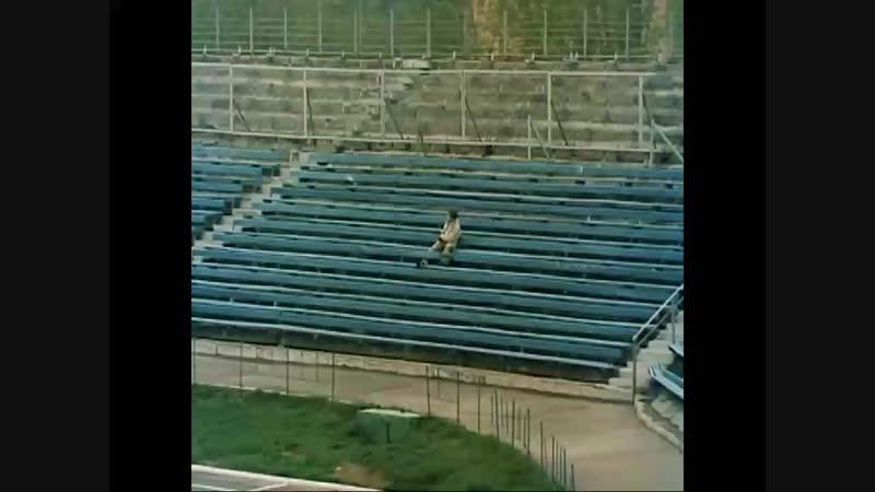 Стадион Труд (до реконструкции) г.Подольск 1989 год