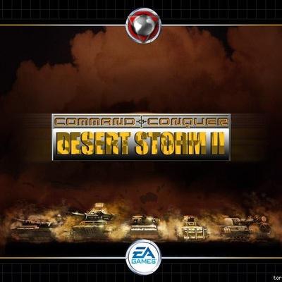 command conquer generals desert storm 2 скачать торрент
